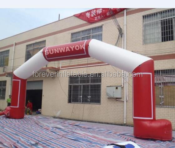 Events inflatable start finish line entrance arch