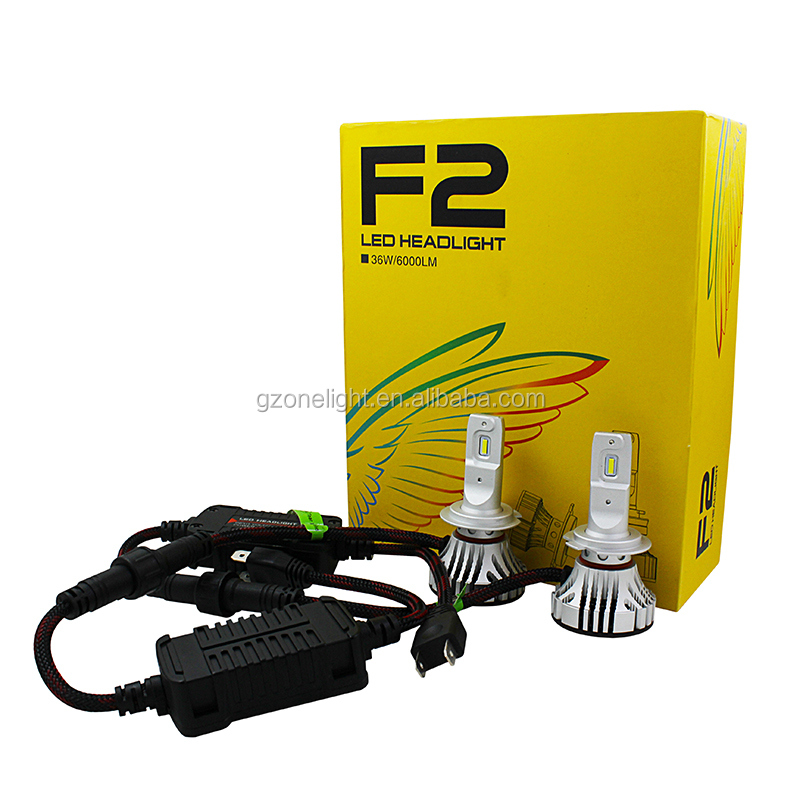 Auto Parts, Super Bright Led Headlight Bulb H11 36w 12v 24v 8000lm H7 Car Head Lamp Headlight