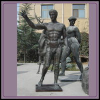 life size male nude statues