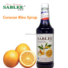 SABLEE French blue curacao flavor syrup S228 soft drinks flavor molasses 900ml