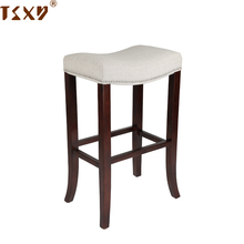 Hot sale reclaimed wood bar stool high chair