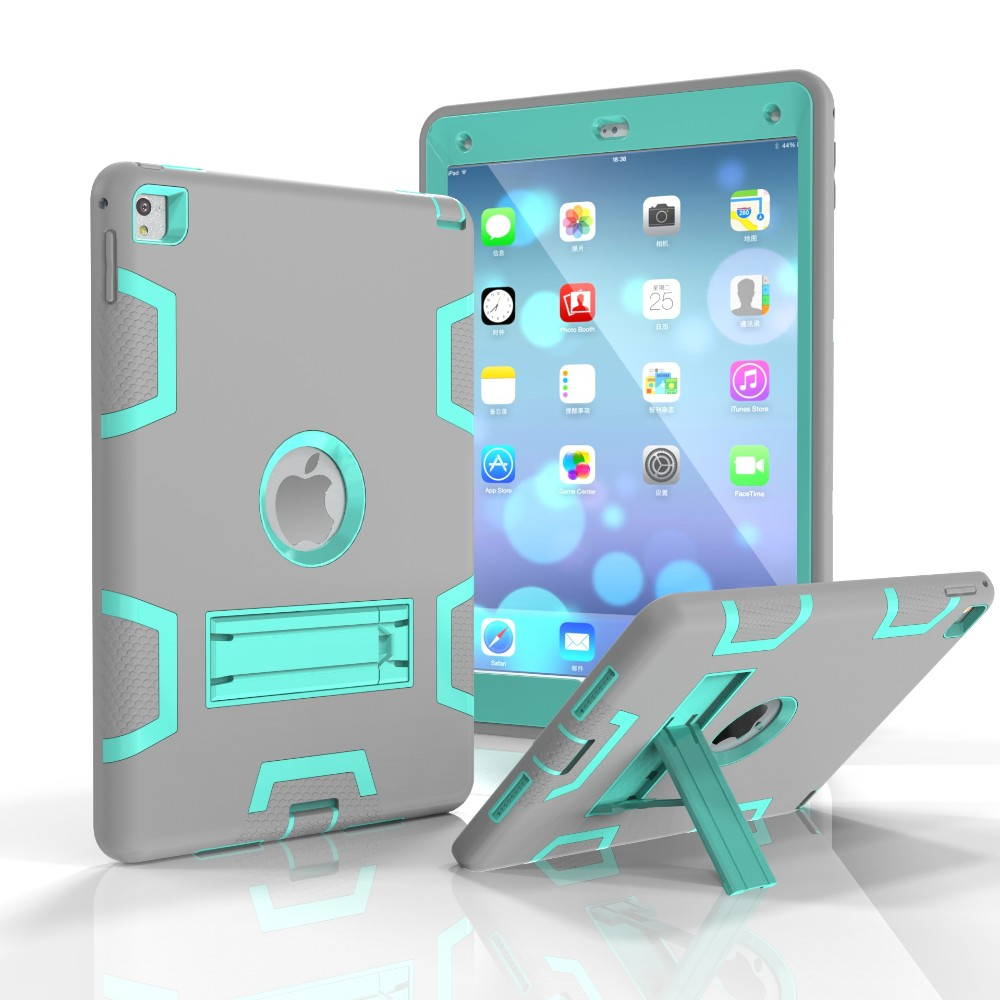 Combo Dustproof Cover Case For Apple iPad Air 2 Case For iPad 6 Case