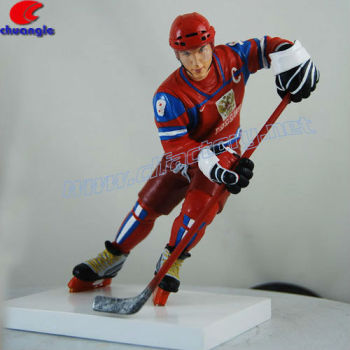 Collective Handmade Sports Player Action Figurines
