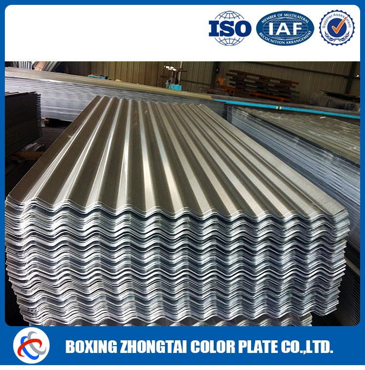 Hot rolled steel corrugated gi sheets size