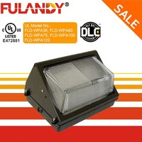 ETL cETL DLC 60W LED Wallpack, Outdoor Security Lighting 60W LED Wallpack