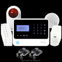 wireless digital home security alarm system for wireless gsm alarm instruction with APP/SMS remote control by smartphone