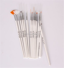 15 Pieces Magic Wonderful Efficient Elegant Manicure Nail Art Writing Drawing Brush