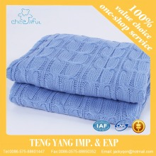 China supplier High quality Cheap price 100% Acrylic plain dyed sofa throw