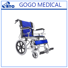 GOGO Rehabilitation Equipment Aluminum Manual Wheelchair User-Friendliness Uniqe Design Manual Wheelchair