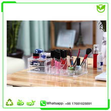 Clear Acrylic Make Up Organizer / plastic Cosmetic Box