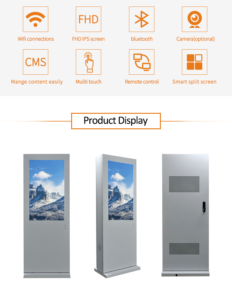 lcd panel for digital signage