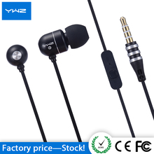 Custom logo aluminum headphone airline soundproof sport sonic ear bud wired Earphone with case