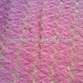 pink jacquard knit fabric for sweater