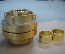 "Fire hose coupling/ German type/ Brass coupling/ Storz/2.5""/2.5 inch"