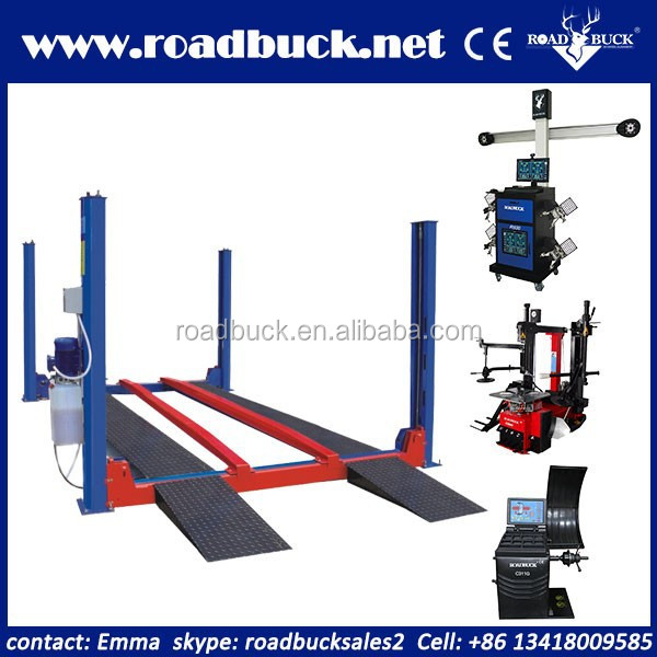 Four post car lift for sale used 11