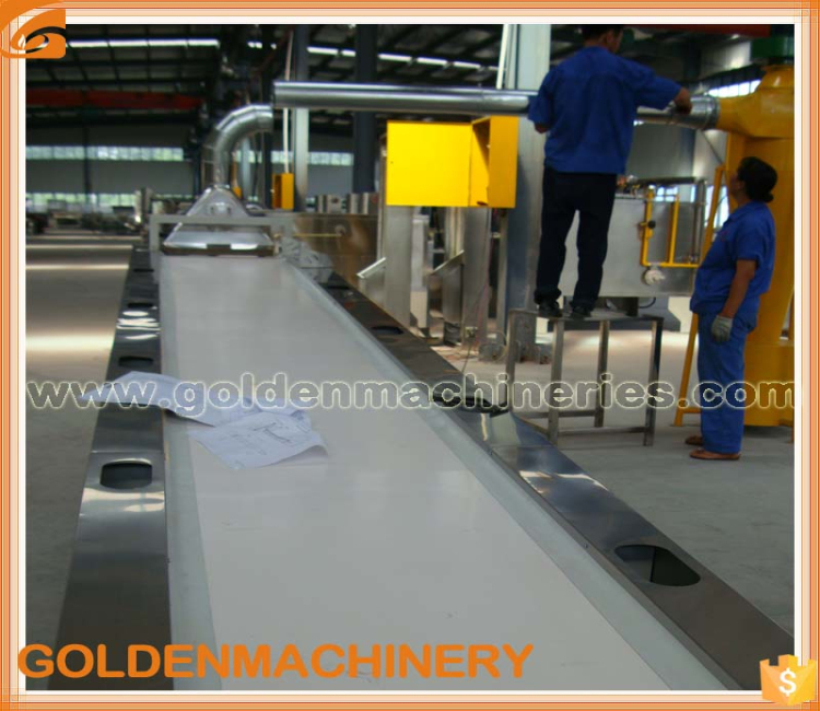 Nuts Material Belt Conveyor System