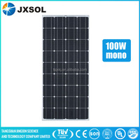 cheapest price 5 years warranty mono solar panel 100 watt with TUV IEC CEC CE UL SONCAP certificate and best service