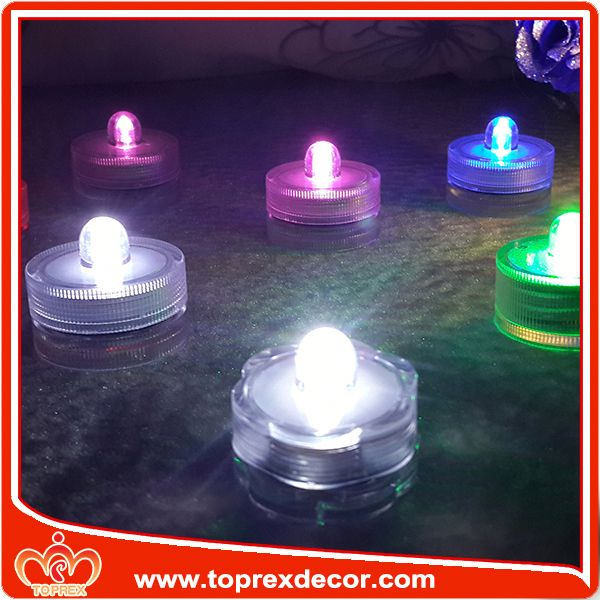 Waterproof lights led lights candles wholesale
