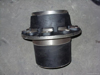 Wheel hub made from ductile cast iron