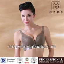 Stock Gathering Molded Cup Ladies Lace Bra