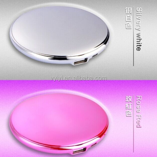 (Manufacturer) 7000mAh Power Bank Mirror, Make Up Box Power Bank 7000mAh for Lady, Dressing Box Portable Charger 7000mAh Gift