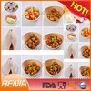 RENJIA collapsible silicone bowl multi colored mixing bowl set collapsible bowl
