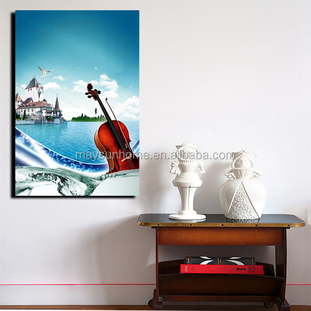 cheap stretched frameless canvas pictures prints