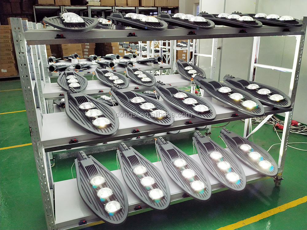 All in one slender narrow beam angle lens LED street light
