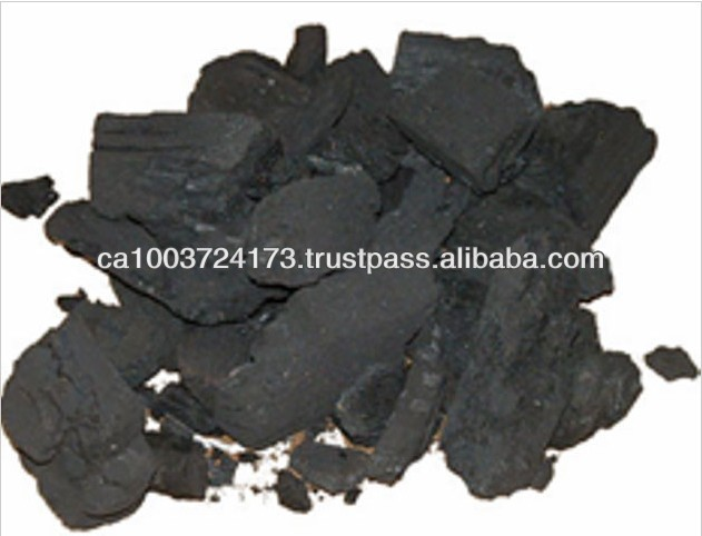 100% Natural Black Oak Hard Wood Charcoal for Sale