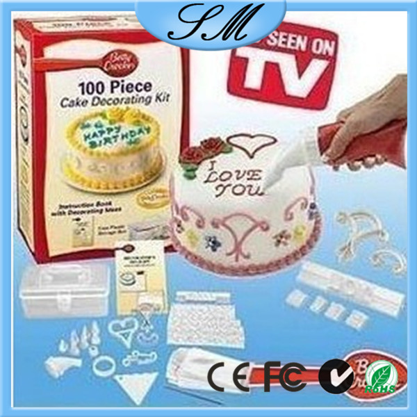 100 pcs cake decorating kit for cake tools buy 100 piece for 100 piece cake decoration kit