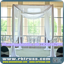 RK wedding stage furniture/indian wedding party mandap decorations design/wedding chuppah for muslim sale