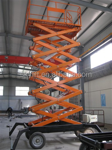 Hydraulic Mobile Lift for Painting