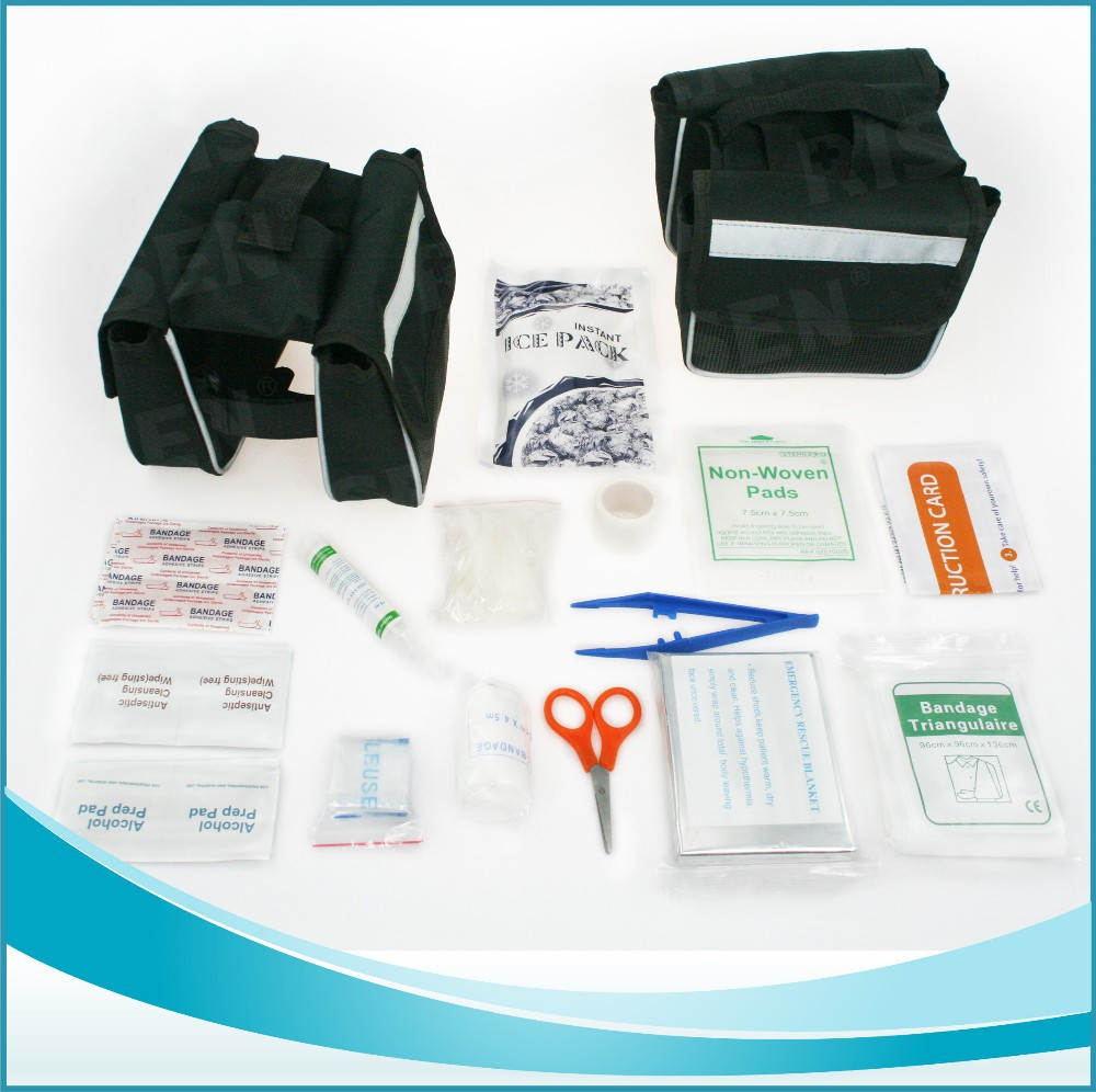 Emergency First aid Medical kit for electric bike travel