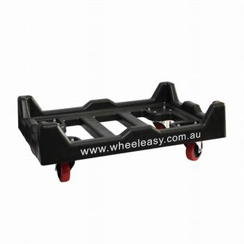 used plastic dolly with wheels for sale
