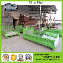 Outdoor Tub style recycling container roro skip roll off container hooklift dumpster
