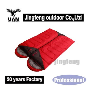 high quality multifunctional superman outdoor sleeping bag