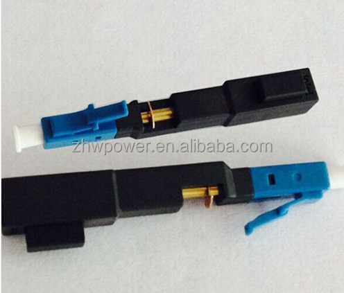 LC/PC Singlemode Straight-through Field Assembly Connector Fast/Quick Connector
