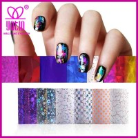 Beauty Nails Supply Metallic Nail Wrap Foil Eco-friendly Nail Wrap