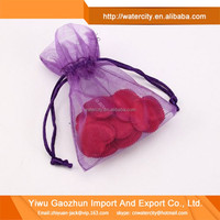 Sheer Drawstring Organza Gift Bags /Wedding Party Favour Bag/ Candy Pouch