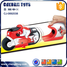 Pop-up speed racing moto plastic motobike small toy motorcycles