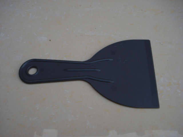 Factory plastic handle putty knife/ice scraper