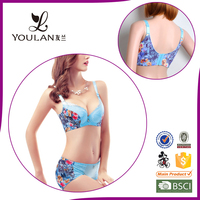 suitable popular wholesale best price push up green bra panty set