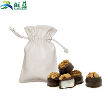 Eco friendly certified custom cotton food packaging bag