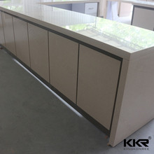 Kingkonree customized solid surface hospital reception desk