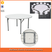 plastic table plastic table with removable legs fold-in-half round table