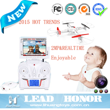CARNIVAL 2015 TRENDS 6 Axis HAND THROWING UFO RC QUADROCOPTER DRONE (REALTIME &2MP&LCD)