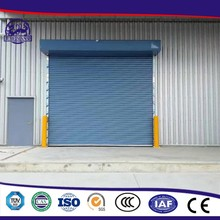 Windproof Rapid Roll Up Metal Industrial Aluminum Rolling Door