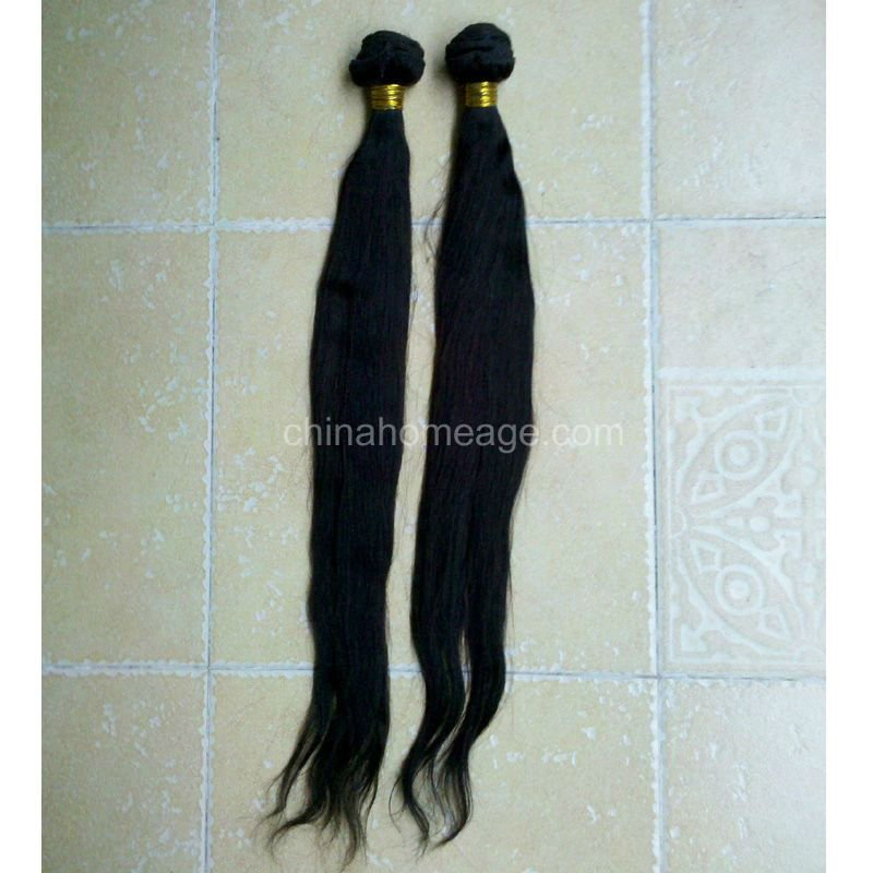 homeage alibaba china 26inch straight human hair extension in dubai