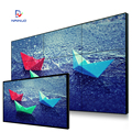 55 Inch lcd seamless multi screen tv wall ultra narrow bezel video wall