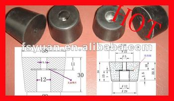 NBR rubber feet furniture equipment rubber feet/national rubber manufacturers ltd